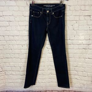 American eagle skinny jeans size 2 short